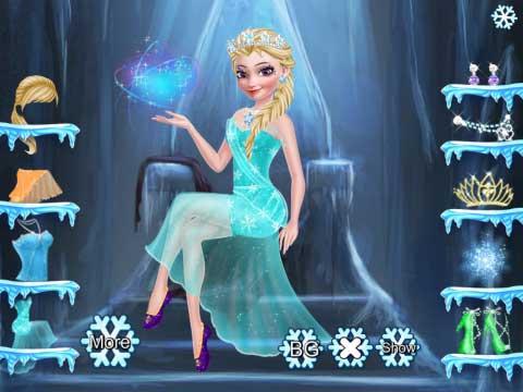 冰雪奇缘爱莎,冰雪奇缘爱莎小游戏在线玩
